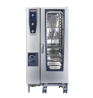 Rational Rational Steamer CM 201E Plus Electric | Combimaster Plus 201 | 20x1 / 1GN or 40x1 / 2GN | 150-300 Couverts