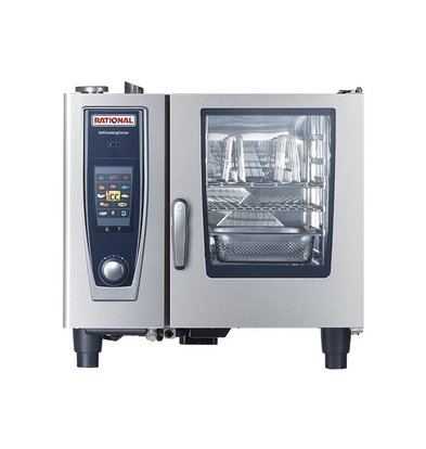 Rational Rational Combisteamer SCC 61G Gas | Self Cooking Center Type 61 | 6 x 1/1GN of 12 x 1/2GN | 30-80 Couverts