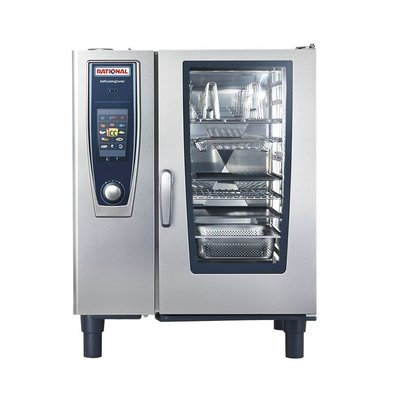 Rational Rational Combisteamer SCC 101G Gas | Self Cooking Center 101 | 10x1/1GN of 20 x 1/2GN | 80-150 Couverts