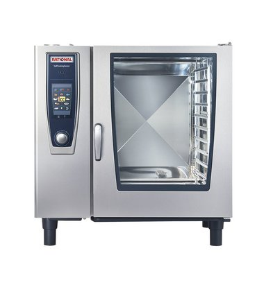 Rational Rational combi steamer SCC 102G Gas | SelfCooking Center 102 | 10x2 / 1GN or 20 x 1 / 1GN | 150-300 Place Settings