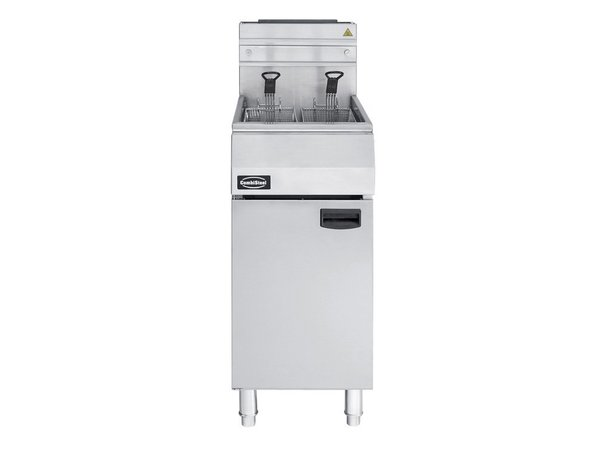 Combisteel Friteuse Gas 21 Liter - 27kw - Pitco Look a like!