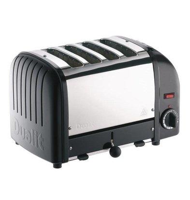 Dualit Toaster Dualit Black   4 Slots   Up to 130 slices p / u