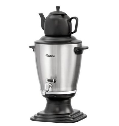 Bartscher Tea dispenser / Tea kettle / Samovar Ø310mm | | 3.2 liters