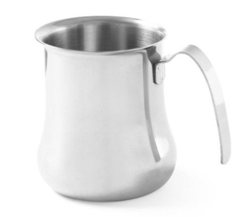 Hendi Cappuccino Stoomkannetje | RVS | Beschikbaar in 2 Maten