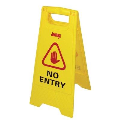 """Jantex Warning sign """"No entry"""""""