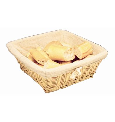 Olympia Bread Basket with Cover - 230x (H) 230mm