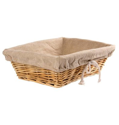 Olympia Bread Basket with Cover - 350x (H) 250mm