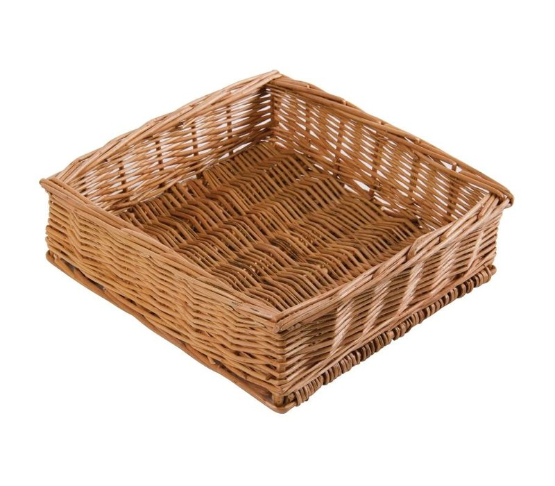 Olympia Tabel Basket Square - 250x250x(h)80mm