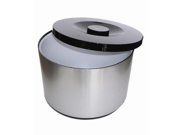 XXLselect IJsemmer XXL | Aluminium | Uitneembare Afdruipbak | 10 Liter | Ø292(H)217mm