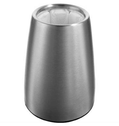 Vacu-vin Vacu Vin Wine Cooler stainless steel - with Sleek Design - Removable Heatsink - Cools in 5 Minutes - Ø15,5cm x 23 (H) cm