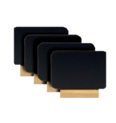Securit Tafelkrijtbordje Silhouet   75x90x20mm   Per 4 Stuks