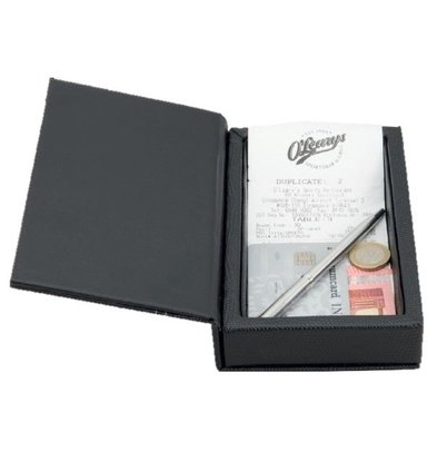 Securit Account holder PU Leather Box 183x110x40mm