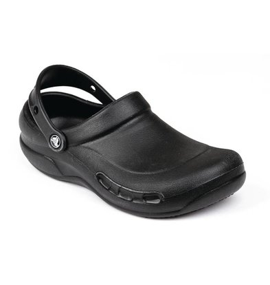 Crocs Bistro Crocs - Black - Available in ten sizes - Unisex