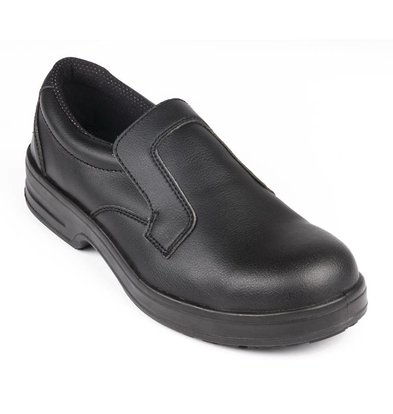 Lites Safety Footwear Entry Lites Shoe - Black - Available in seven sizes - Unisex