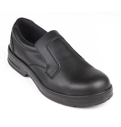 Lites Safety Footwear Lites Instapschoen - Zwart - Beschikbaar in twaalf maten - Unisex