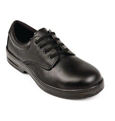 Lites Safety Footwear Lites Lace Shoe - Black - Available in twelve sizes - Unisex