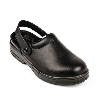 Lites Safety Footwear Lites Safety Clogs - black - Available in twelve sizes - Unisex