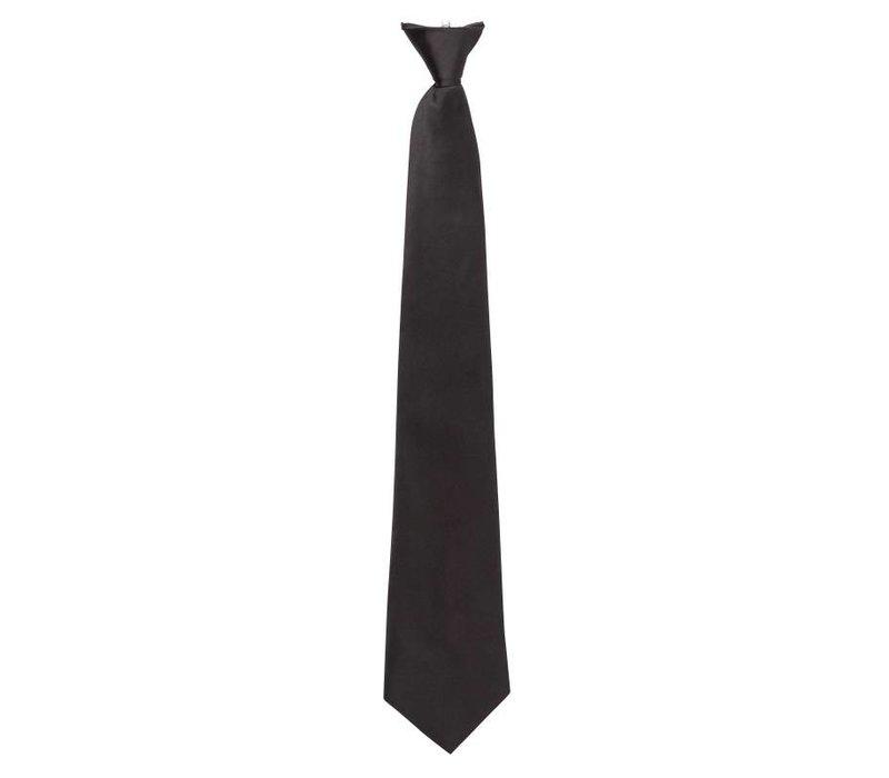 XXLselect Clip-on stropdas zwart