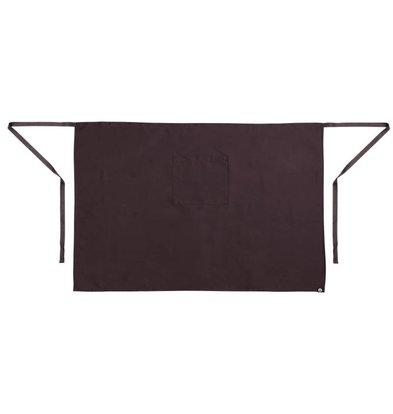 Whites Chefs Clothing Bistro Horeca Sloof / Kokssloof - Beschikbaar in twee maten, 100x70/100cm - Beschikbaar in twee kleuren - Unisex