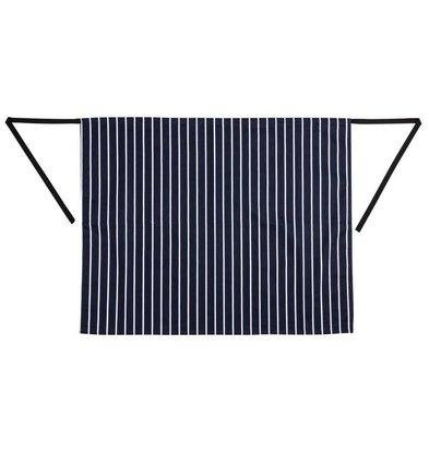 Whites Chefs Clothing Whites Sloof - 70 x 95cm - Blauw / Wit gestreept - Unisex