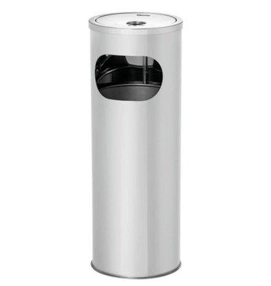 Bartscher Staande Asbak RVS | 11 Liter | 210x210x574(h)mm