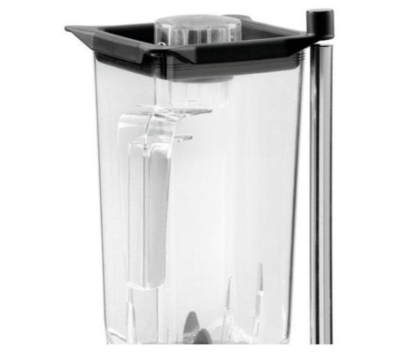 Bartscher Blender Pro | 2,5 Liter | 1500W | Beker Kunststof ABS | 225x225x555(h)mm