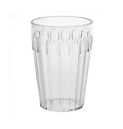 Kristallon Tumbler Glas | Polycarbonaat | 280ml | 12 Stuks