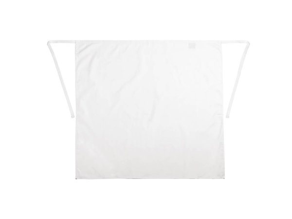 Whites Chefs Clothing Standaard Horeca Sloof - Lang - 90x90cm - Wit - Unisex