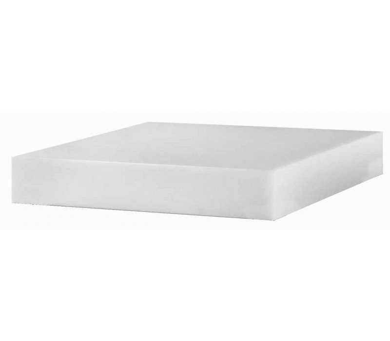 Hendi Hard Plastic chopping block - 400x500x50 mm | 9.7 kg