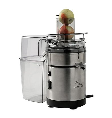 XXLselect Stainless steel juicer PRO - 230V / 240W - 190x310x (H) 380mm