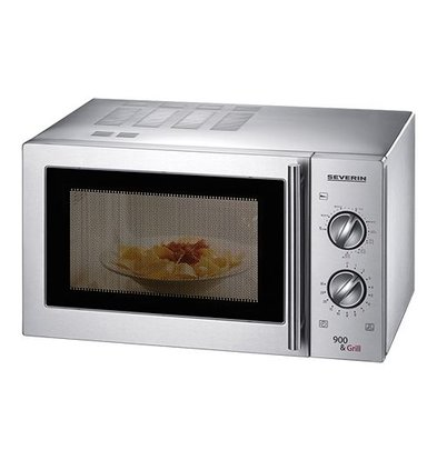 XXLselect Microwave - Stainless Steel - With Grill - 23 liters - 900 W