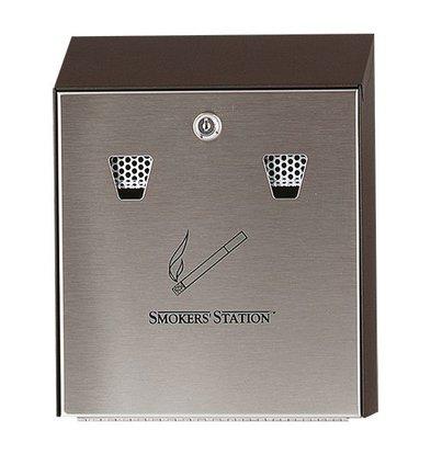 XXLselect Wall ashtray Economic RVS | Easy to Legen | 250x80x (h) 320mm
