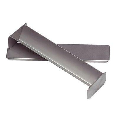 XXLselect Pate Vorm | Roestvrij Staal | Driehoek Vorm | 40x300x60mm