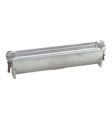 XXLselect Pate Vorm | Gegoten Aluminium | Driehoek | 85x75x400mm