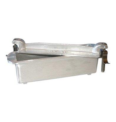 XXLselect Pate Form | Cast Aluminium | Square | 7,5x24x5,5cm