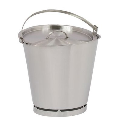 XXLselect Bucket RVS 10 Liter - Size Distribution PRO