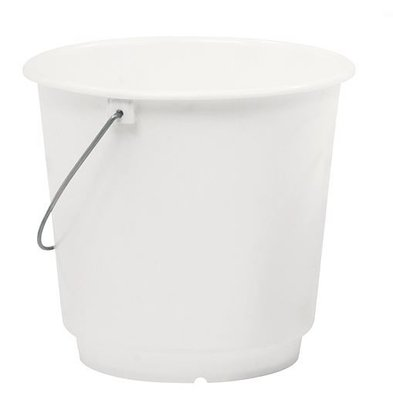 XXLselect Bucket White Kunststofcentrum 12 Liter - Size Distribution