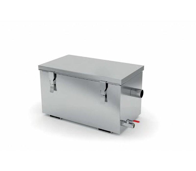 XXLselect Vetafscheider RVS   AISI 304 Kwaliteit   3 Verschillende Capaciteiten