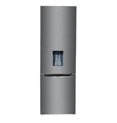Frilec Stainless steel refrigerator-freezer 199 + 68 liters | Energy class A ++ | 550x580x1770 (h) mm