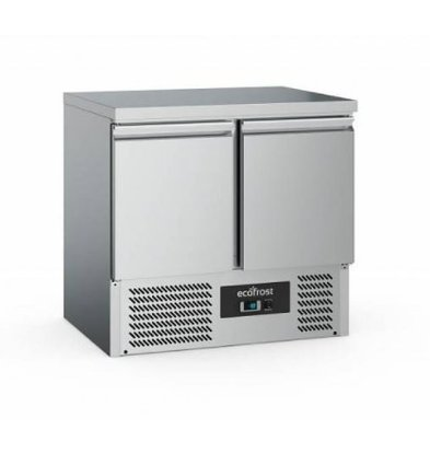 Ecofrost Cool workbench - 2 doors - 240 Liter - 90x70x (h) 85cm