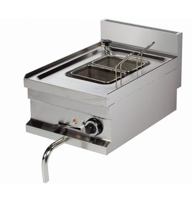 Combisteel Pasta Cooker Electric | 14 liters | Drain valve | 230 | 400x600x (H) 265mm