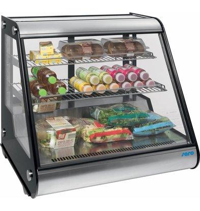 Saro Refrigerated display case design - 160 liters - 87x58x (h) 68cm