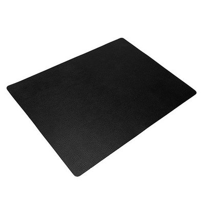 Securit Zwart Lederen Placemat | 330x240mm