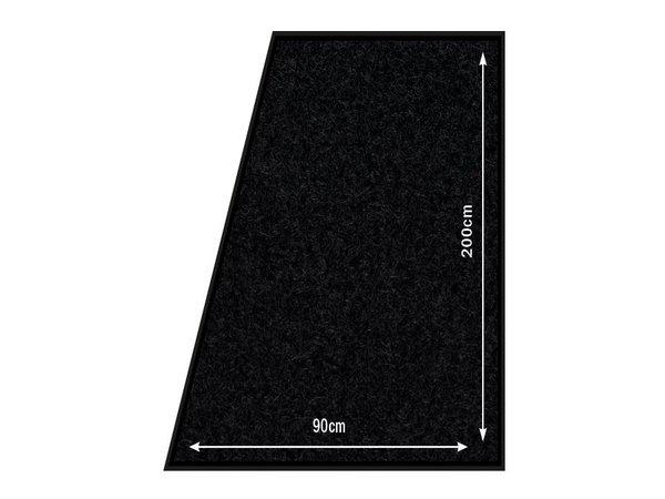 Securit Anti-Slip Vloermat Zwart | Weersbestendig | 200x90cm