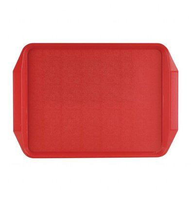 Roltex Roltex Dienblad | 43,5x30,5cm | Rood