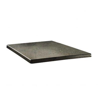 Topalit Topalit Classic Line | Vierkant Tafelblad | Beton | Beschikbaar in 3 maten