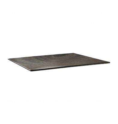Topalit Topalit Smartline   Rechthoekig Rafelblad   Gelamineerd Hout   120x80cm