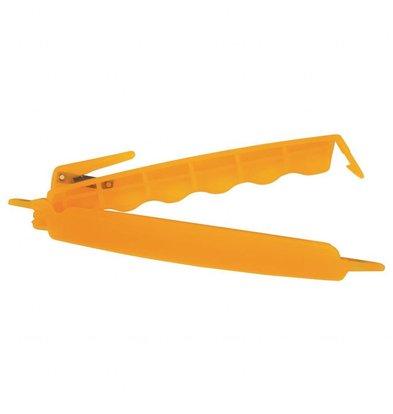 Schneider Schneider | Sluitclips Oranje | 12cm | Per 6