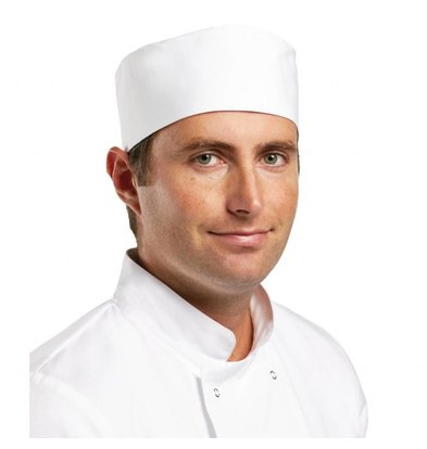 Whites Chefs Clothing Whites Skullcap Wit | XS