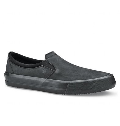 Shoes For Crews Shoes for Crews | Dames Instappers | Zwart | Beschikbaar in 6 Maten